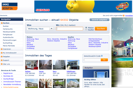 screenshot immoscout24.ch