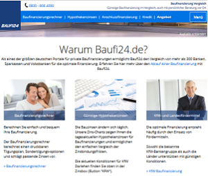 screenshot baufi24.de