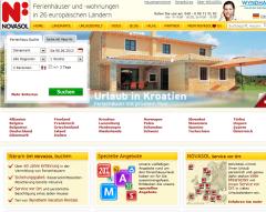 Ferienhäuser Novasol.de